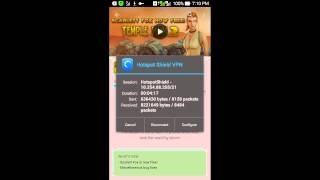 Free internet with smart sim and hotspot shield elite non-rooted phone