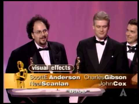"""Babe"" winning the Oscar® for Visual Effects"