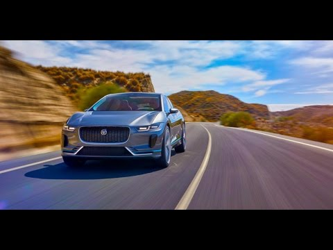 Jaguar's first all-electric SUV I-Pace: 400 HP, 500+ km range, All-Wheel Drive, Coming in 2018