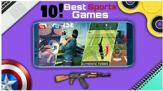 Top 10 best sports games for android (good graphics) || by Zack