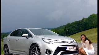 The New 2016 Toyota Avensis Test Drive