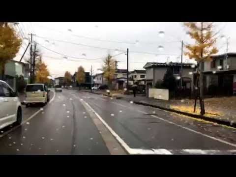 japan fall colors  Nagaoka City