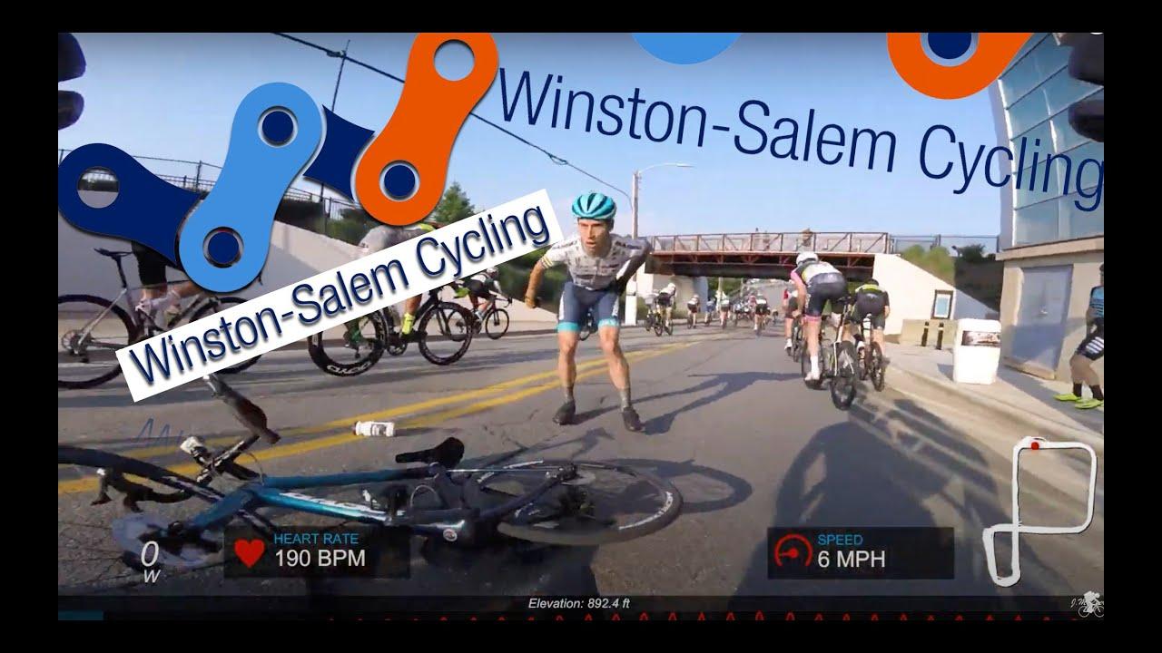 FULL RACE -- USA CRITS -- WINSTON SALEM -- PRO MEN