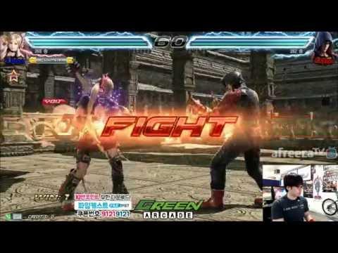 2016/06/17 Tekken 7 Knee's Stream 무프리카!