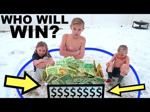 LAST TO LEAVE the Snow WINS Box FULL of MONEY!