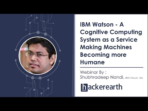 Tutorial on IBM Watson - A Cognitive Computing System