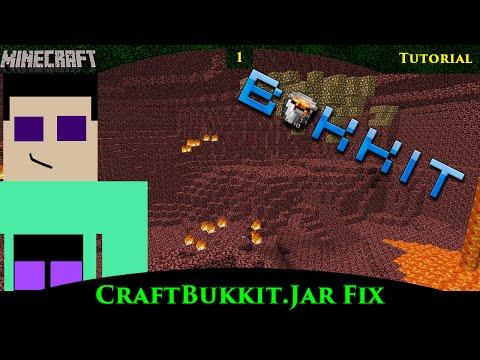 How to fix the error: Unable to access jar file craftbukkit.jar