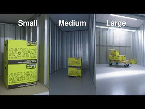 Welcome to Storage World Self Storage & Workspace