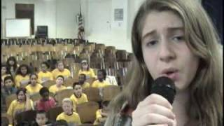 "PS22 Chorus ""A SILENT NIGHT WITH YOU"" Tori Amos"