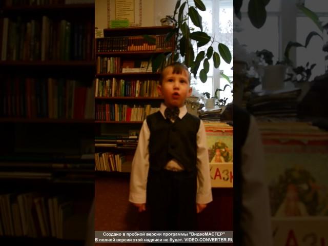 Изображение предпросмотра прочтения – ДенисМальцев2 читает произведение «Весна (Зима не даром злится…)» Ф.И.Тютчева