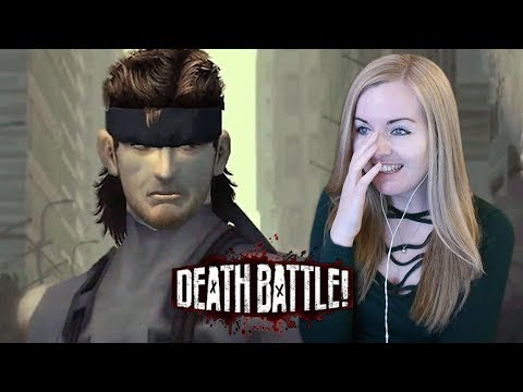 SNAAAKE! - Death Battle Solid Snake VS Sam Fisher Reaction - (Metal Gear VS Splinter Cell)