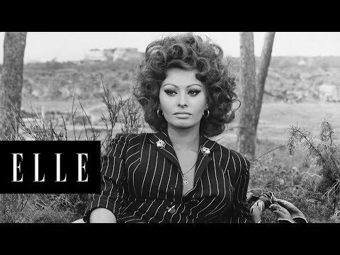 The Evolution of Sophia Loren  ELLE