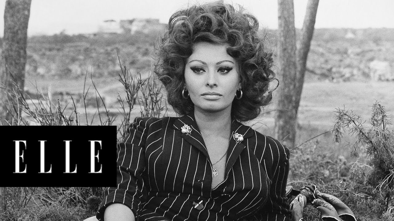 the evolution of sophia loren elle youtube