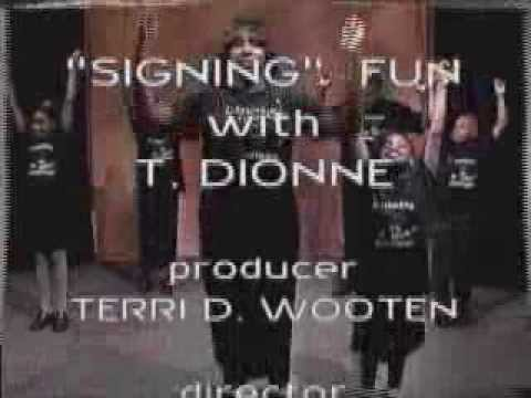 T Dionne's FIRST TV Show  - taped in 2003! BAM!
