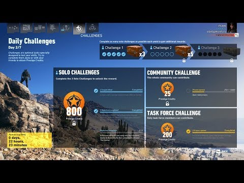 Ghost Recon Wildlands Daily Challenges Week 25 Day 2 Solo Challenge 2 Nidia Flores No Dectection |