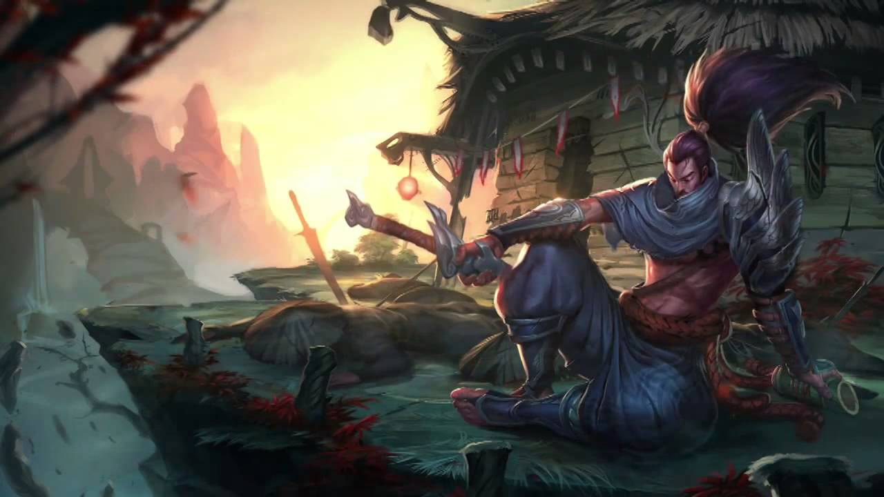 Wallpaper Live 3d For Windows 7 Yasuo League Of Legends Login Screen With Music Youtube