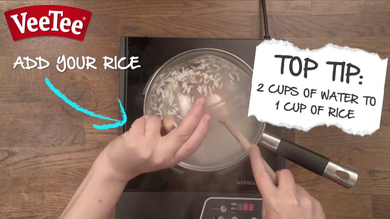 How To Cook Basmati Rice  Veetee