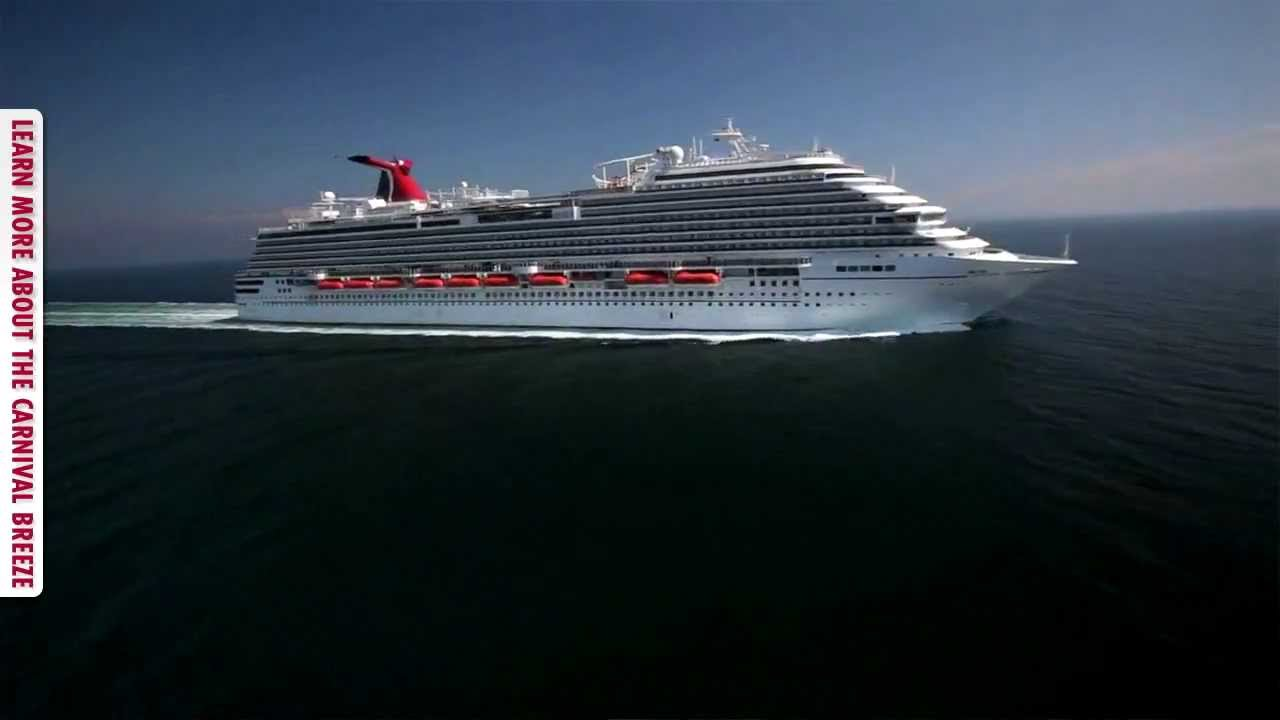 Carnival Breeze At Full Speed And Test YouTube - Cruise ship speed