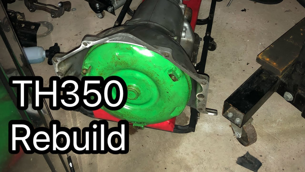 how to rebuild a th350 automatic transmission