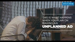 An Unplanned Travel Insurance Ad