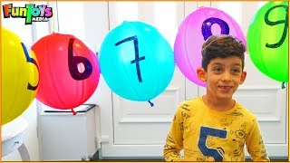 Jason Plays with ten Magic Balloons