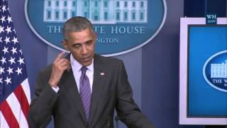 Obama Surprises Student Reporters - Full News Conference