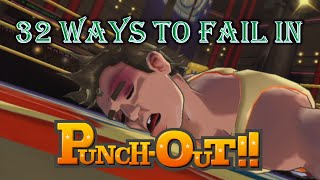 Repeat youtube video 32 Ways to Fail in Punch-Out!!