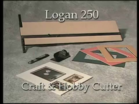 Logan 250 Craft & Hobby Cutters: Usage video by ArtistSupplySource.com