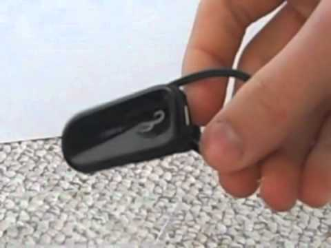 Rocketfish Bluetooth PS3 Headset Unboxing