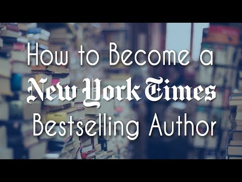 How to Become a New York Times Bestselling Author || YA Ink