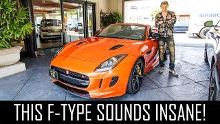 Selling my Ferrari for a Jaguar F Type S?!