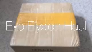 Exo Elyxion Goods Haul/Unboxing
