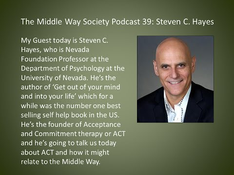 Steven C. Hayes on ACT and the Middle Way