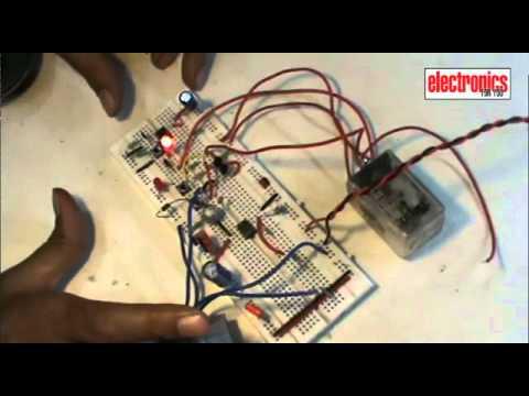 Sensor Based Door Lock Circuit EFY Lab - YouTube