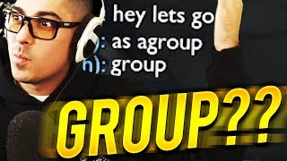 STOP TELLING ME TO GROUP!!!! - Trick2g