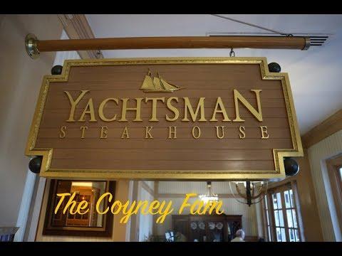 Disney worlds YACHTSMAN STEAK HOUSE at Yacht and Beach Club