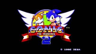 Sonic the Hedgehog 2 Прохождение без Золотого Соника (Sega)