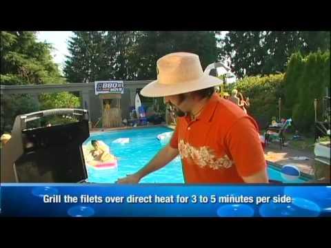 The BBQ Boys: Boneless Snapper Filets On The Grill.mov