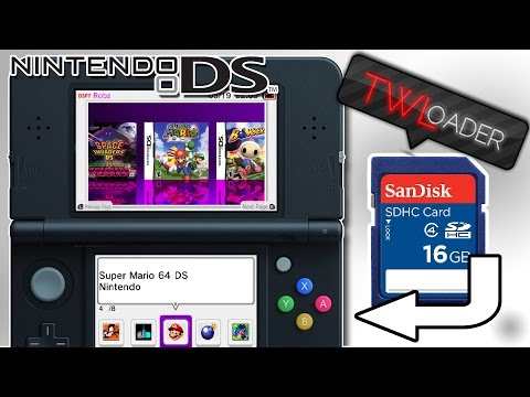 HOW TO PLAY DS GAMES ON 3DS OFF AN SD CARD! | TWLoader |