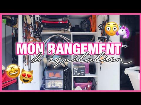 MON RANGEMENT D'ÉQUITATION 😱🤩