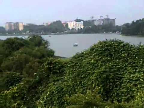 LAKE VIEW FROM HOSTEL 13, IIT BOMBAY