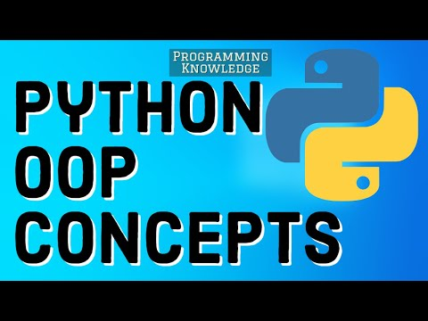 Object-Oriented Programming (OOP) in Python 3 | Python Object Oriented Programming Tutorial