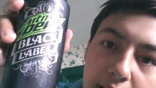 Mountain Dew: Black Label taste test.