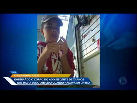 Adolescente Que Morreu Ao Tentar Salvar Amigo Em Rio é Enterrado