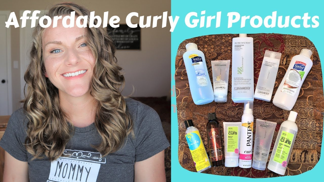 Affordable Curly Girl Products Youtube Curly Girl Curly Hair