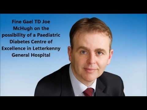 Fine Gael TD Joe McHugh on the Donegal parents of children with diabetes campaign