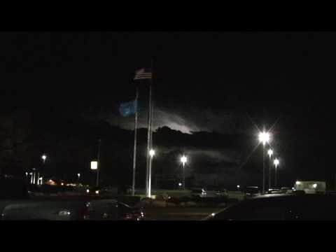 Thunderstorms Outside the Choctaw Casino PowWow 2018