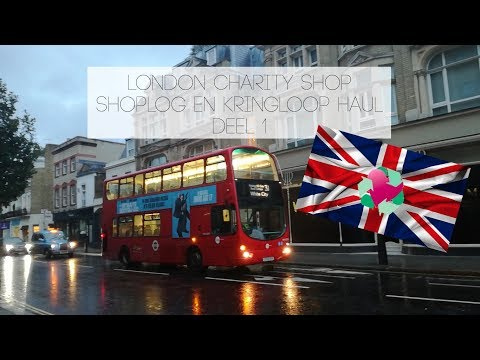 London Charity Shop Shoplog/Haul deel 1: interieur en media    TrashFashion