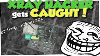 XRAY HACKER GETS TROLLED! - Minecraft Trolling #105 (Minecraft Pranks)