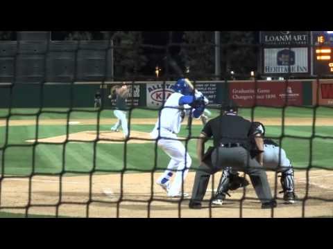 Yusniel Diaz of the Rancho Cucamonga Quakes (Dodgers)